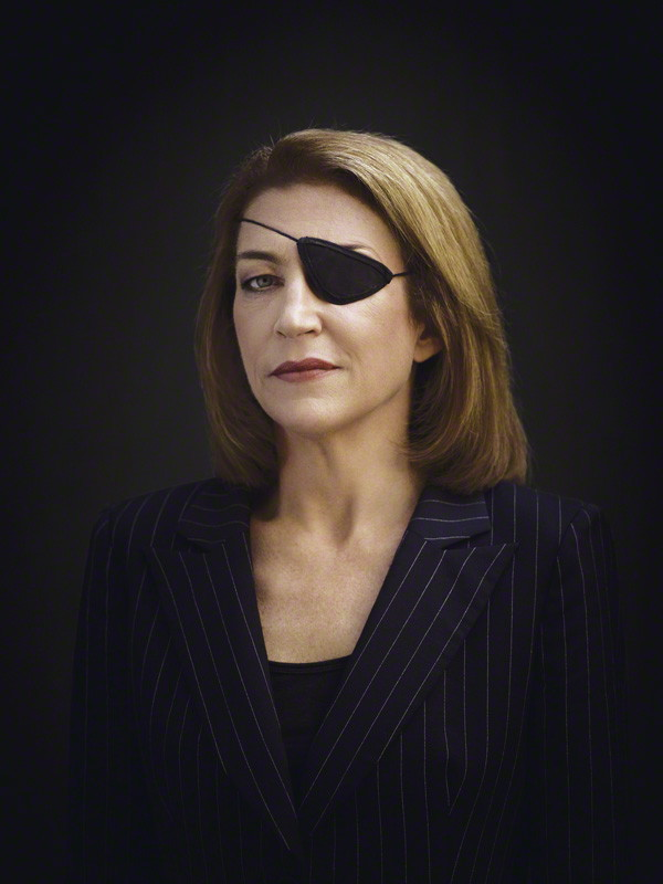NPG x131971; Marie Colvin by Bryan Adams